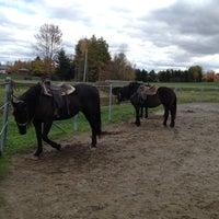 Photo taken at Centre Equestre des Sables by Lavoie J. on 10/7/2012