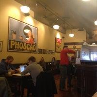 Photo taken at Phoscao Cafe by David C. on 11/3/2013