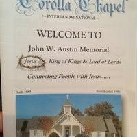 Photo taken at Corolla Chapel by Ryan on 8/25/2013
