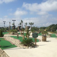 Photo taken at Adventure Golf by Ryan on 8/29/2013