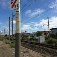 Photo taken at 東北本線 青田村道踏切 by Atsushi B. on 6/12/2013