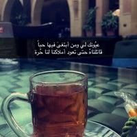 Photo taken at Al Bindaira Café by Abduallh F on 1/1/2017