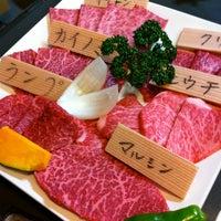 Photo taken at 焼肉たきち by Jun K. on 1/4/2013
