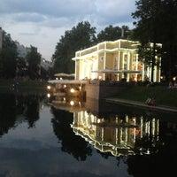 Foto tirada no(a) Patriarshiye Ponds por bmwoodoo em 7/3/2013
