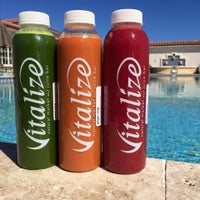 Photo taken at Vitalize Natural Market and Juice Bar by Vitalize Natural Market and Juice Bar on 12/19/2016