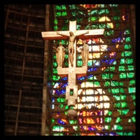 Photo taken at Catedral Metropolitana de São Sebastião by Mitchell S. on 6/8/2013