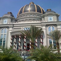 Photo taken at Gereja Tiberias Indonesia - Gading Nias by Alfred G. on 12/16/2012