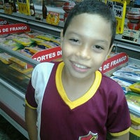 Photo taken at Supermercado Fortaleza by Lidy M. on 9/24/2012