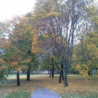 Photo taken at Vasaramäenpuisto by Thomas S. on 10/10/2014