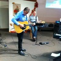 Photo taken at Cornerstone Community Church by Diana L. on 11/25/2012