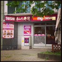 Das Foto wurde bei My Sushi von BOBBY am 6/15/2013 aufgenommen