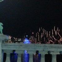 Photo taken at Zmajski most / Dragon Bridge by Di .. on 12/27/2012