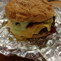 Photo taken at Five Guys by Nate R. on 3/3/2013