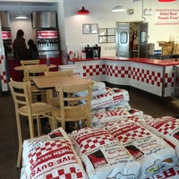 Photo taken at Five Guys by Nate R. on 11/25/2012