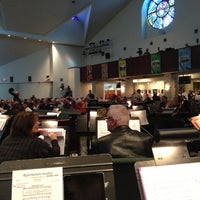 Photo taken at Cathedral of Hope by Michael M. on 10/28/2012