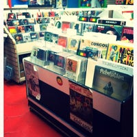 Photo taken at Daddy Kool Records by Jackie on 12/21/2012