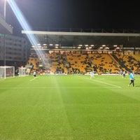 Photo taken at Carrow Road by Lexa Aggressive on 10/31/2012