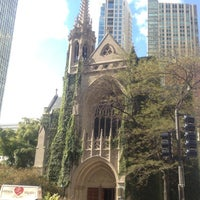 Photo taken at Fourth Presbyterian Church by Nigel C. on 10/6/2012