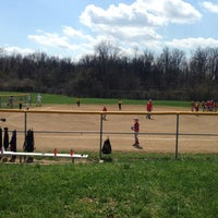 Photo taken at CCAA Sports complex by Jeffrey B. on 4/12/2014
