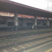 Photo taken at Stazione Bergamo by Marco C. on 11/2/2012