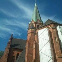 Das Foto wurde bei Kinderspielplatz Ludwigkirchplatz von Fabian K. am 10/2/2012 aufgenommen