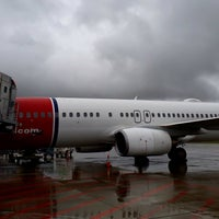 Photo taken at Norwegian DY 1503 • PRG - OSL by Andriy G. on 9/14/2017
