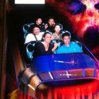 9/25/2012 tarihinde Jamie B.ziyaretçi tarafından Space Mountain'de çekilen fotoğraf