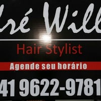 Photo taken at andre willian hair stylist by Andre W. on 9/29/2014