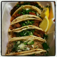 Photo taken at Tacos Tacos by Soledad N. on 1/26/2013
