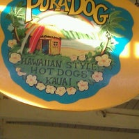 Photo taken at Puka Dog by Amy F. on 12/27/2012