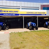 Photo taken at Demireller Traktör New Holland Bayii by Hüseyin D. on 5/19/2014