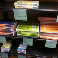 Photo taken at GW Bookstore by Hangyun K. on 1/15/2013