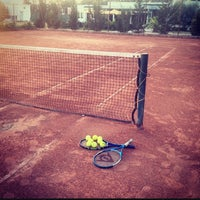 Photo taken at Tennis Club ASM by Chelbi D. on 9/14/2014