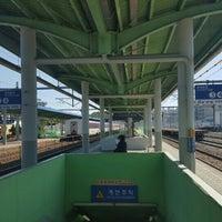 Photo taken at 왜관역 by 종진 허. on 10/9/2015