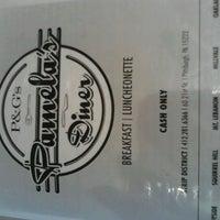 Photo taken at Pamela's P&G Diner by Erika M. on 11/4/2012
