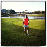 Photo taken at Continental Golf Course by Erica on 3/1/2013