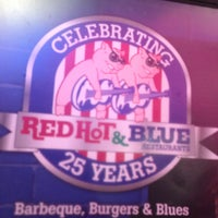 Photo taken at Red Hot & Blue  -  Barbecue, Burgers & Blues by Joseph on 5/27/2013