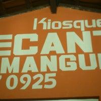 Photo taken at Kiosque Recanto da Mangueira by Renan A. on 7/26/2013