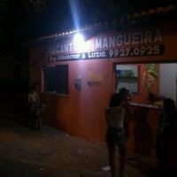 Photo taken at Kiosque Recanto da Mangueira by Renan A. on 6/8/2013