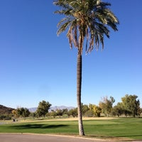 Photo taken at Tres Rios Golf Course at Estrella Mountain Park by Peter M. on 11/12/2012