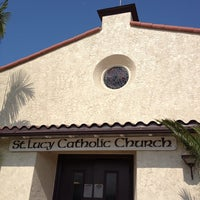 Photo taken at St. Lucy Catholic Church by Erick M. on 6/30/2013