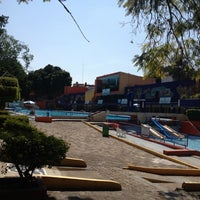 Photo taken at Balneario Agua Hedionda by Raul S. on 10/31/2012