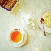 Photo taken at DÔME Café by Zy M. on 11/26/2012