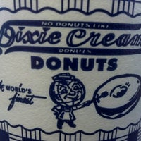 Photo taken at Dixie Cream Donuts by Ari W. on 11/7/2012