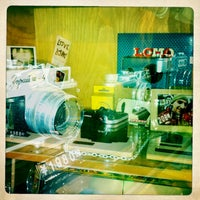 Photo taken at Lomography Gallery Store Shanghai by le s. on 1/28/2013