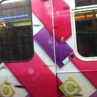 Photo taken at Stadium - Chinatown SkyTrain Station by Natalie R. on 12/28/2012