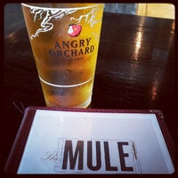 Photo taken at The Mule by Michelle B. on 9/28/2012