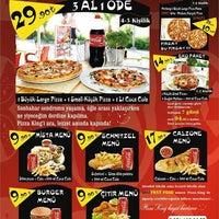 Photo taken at Pizza King - Kuşadası by Onur S. on 9/19/2013