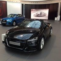 Photo taken at Audi by Sahkan S. on 4/17/2015