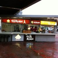 Photo taken at Insam-Land Service Area - Hanam-bound by JK on 10/22/2012